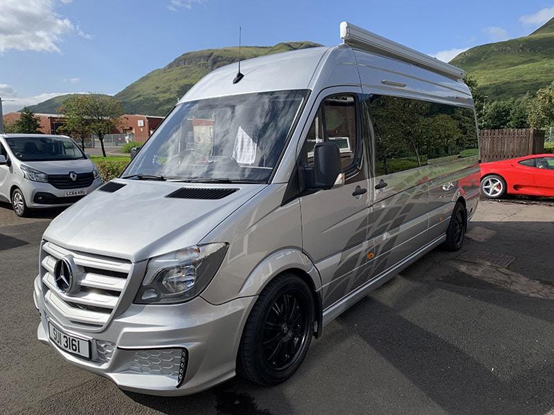 Mercedes for sale campervan sales Scotland