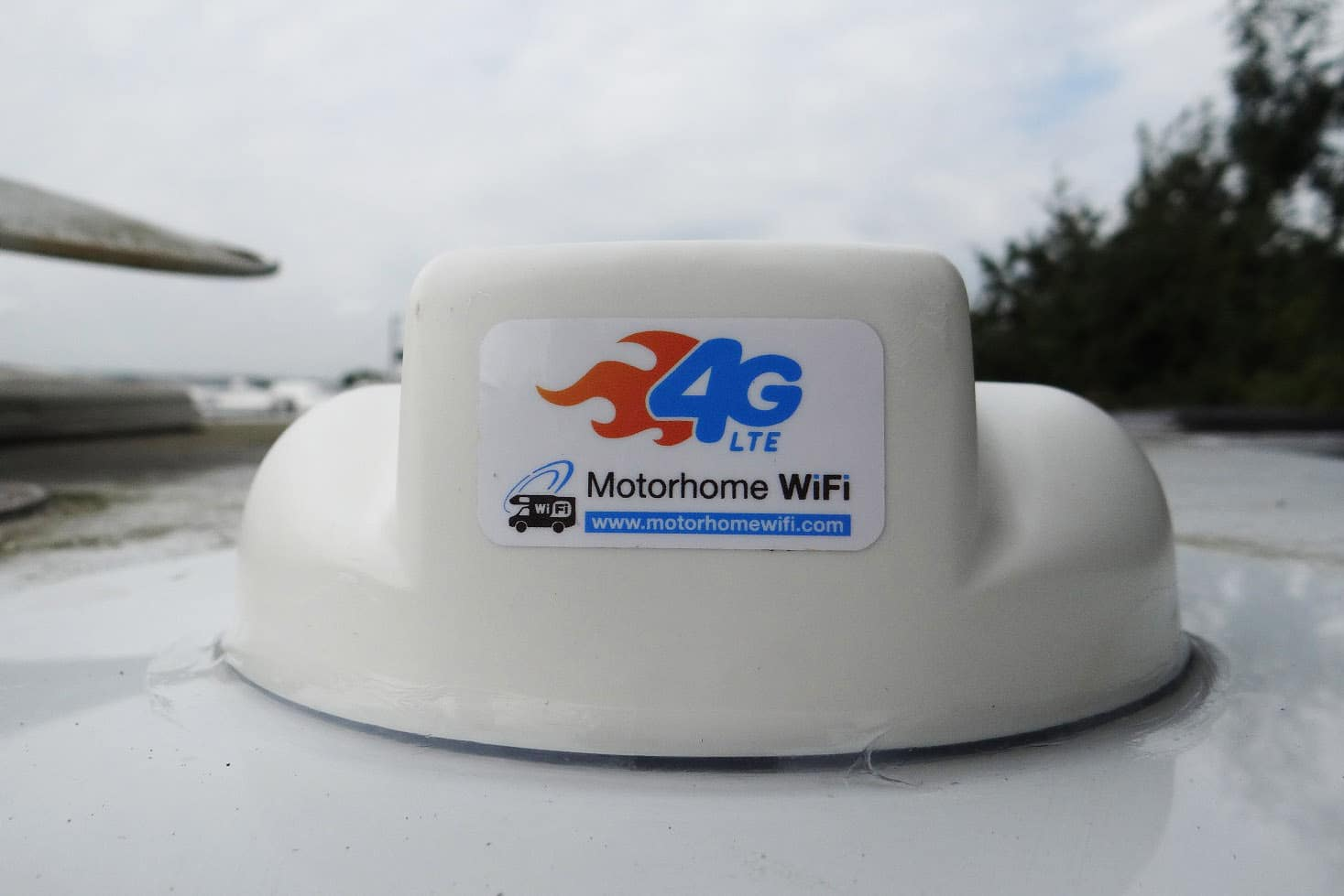 Wifi system installed by our motorhome wifi installer